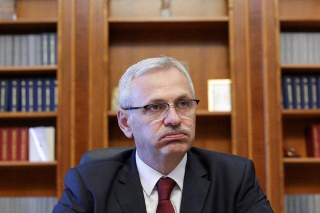 El antiguo líder del Partido Social Demócrata de Rumanía Liviu Dragnea