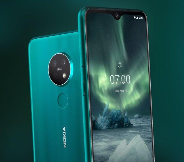 HMD Global amplía su gama media con los 'smartphones' Nokia 7.2 y Nokia 6.2