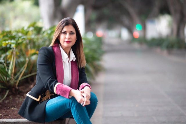 Primera teniente de alcaldesa y concejala de Promoción Económica, Empleo, Cultura y Patrimonio Histórico del Ayuntamiento de Santa Cruz de Tenerife, Matilde Zambudio