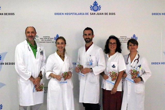 El Hospital San Juan de Dios del Aljarafe edita una guía con consejos nutricionales de la dieta mediterránea