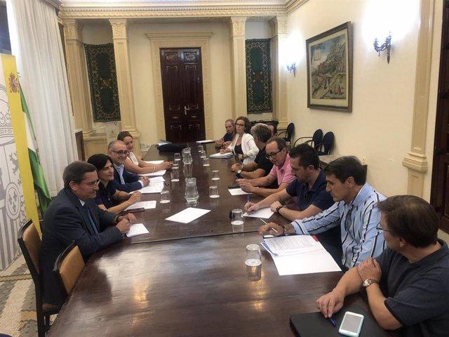 Reunión de la CGH con regantes y ayuntamientos del norte de la provincia