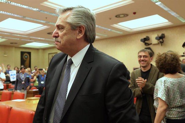 España/Argentina.- Sánchez y el candidato 'kirchnerista' a la Presidencia argent