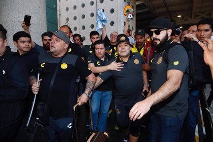 Maradona, nuevo entrenador de Gimnasia y Esgrima de La Plata