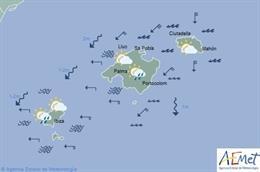 El tiempo en Baleares hoy, 6 de septiembre de 2019.