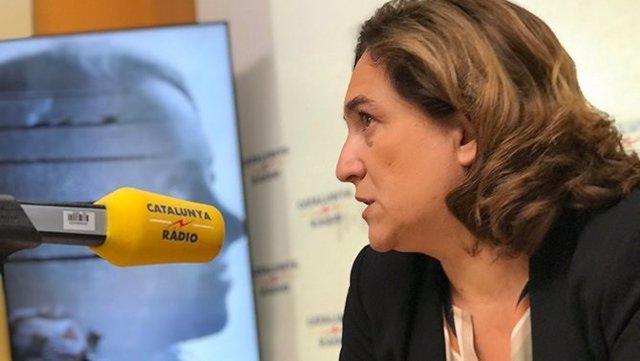 Ada Colau en Catalunya Ràdio