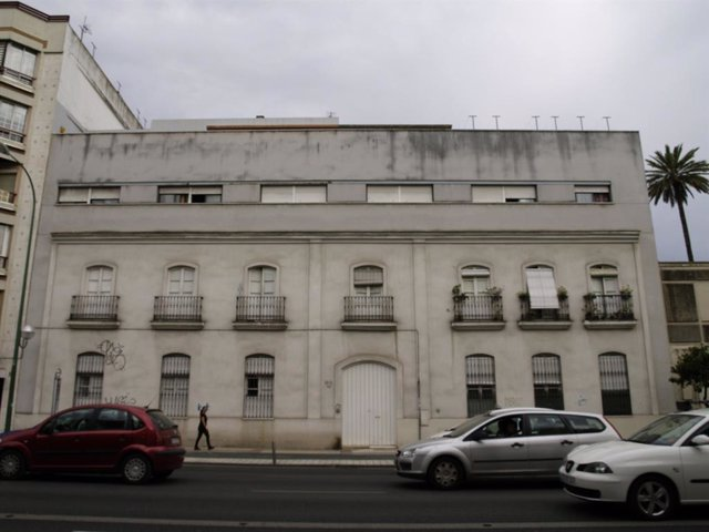 Imagen de un bloque de viviendas en Sevilla.