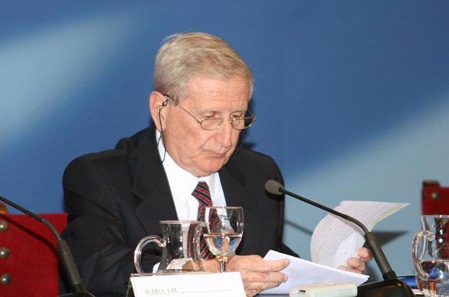 El expresident del Comib, Antonio Alastuey, en una imatge de 2007.