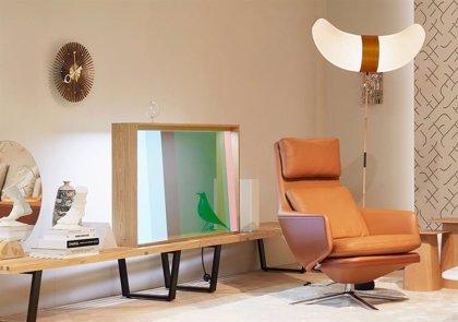 Panasonic presenta sus dos nuevos prototipos de televisores, uno con dos capas de LCD y otro con pantalla transparente