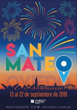 Cartel de las fiestas de San Mateo 2019
