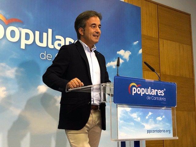 Diego Movellán, diputado nacional del PP