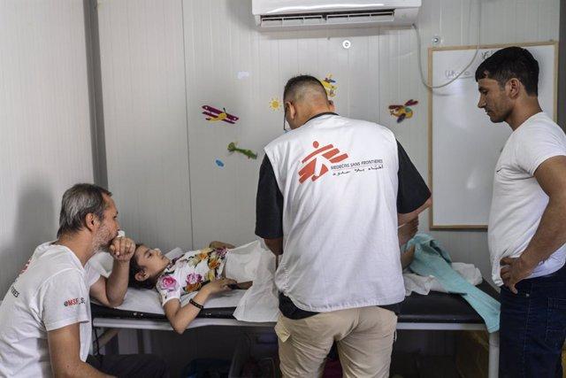 """Europa.- MSF denuncia una desatención """"deliberada"""" de los migrantes """"atrapados"""""""