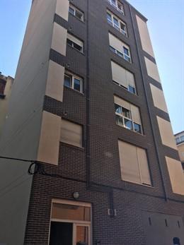 Bloque de pisos de San Celedonio con orden de desalojo por sentencia judicial por delito leve de usurpación