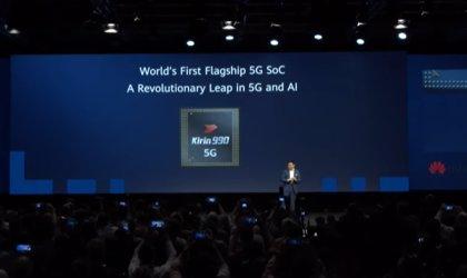 Huawei presenta Kirin 990 5G, su primer procesador móvil con módem 5G integrado