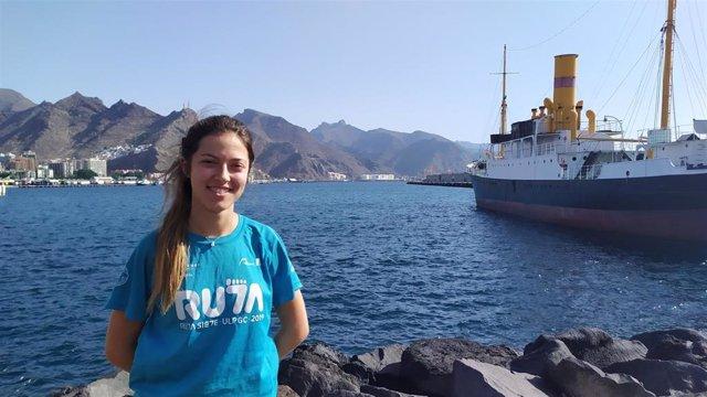 La murciana Silvia Gil Pérez, que actualmente cursa sus estudios en la Universitat de Vàlencia