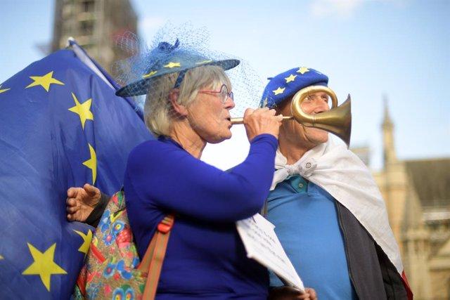 Protestes contra el Brexit
