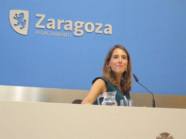 La portavoz del Gobierno local, María Navarro.