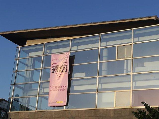 Cartel de las fiestas del ayuntamiento de Cangas do Morrazo (Pontevedra)