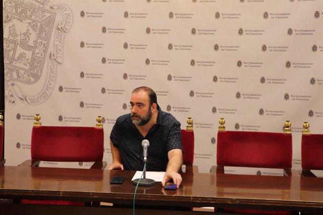 El concejal Francisco Puentedura
