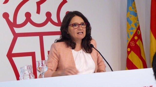La vicepresidenta Oltra en una imagen de archivo