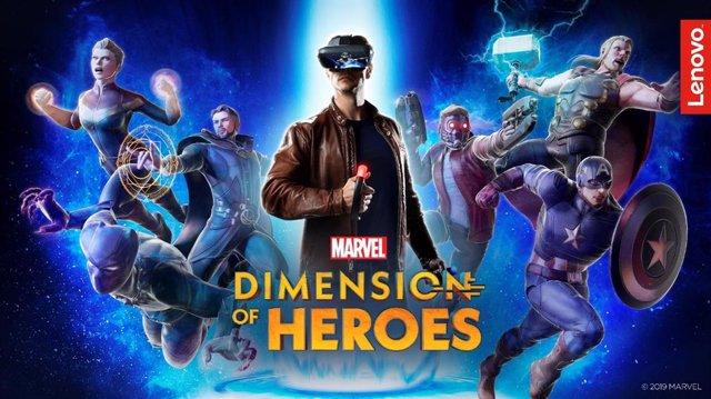 Marvel Dimension Of Heroes Para Lenovo Mirage AR