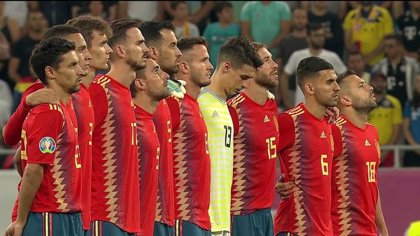 El choque de clasificación para la Eurocopa 2020 entre Rumanía y España reúne en La 1 a más de 3 millones de personas