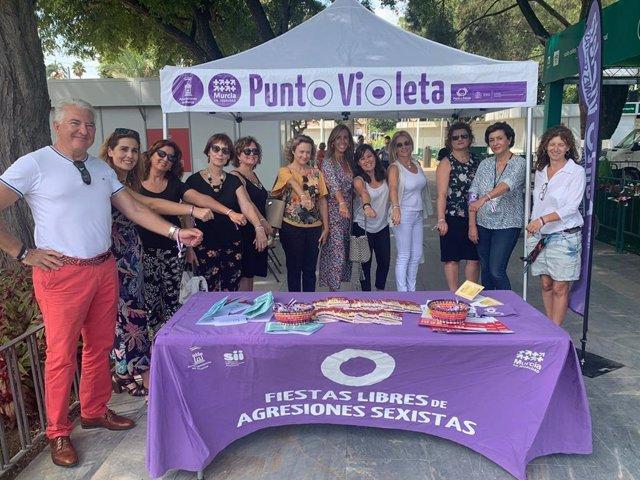 Puntos Violeta en la Feria de Murcia