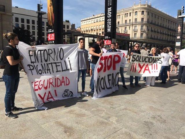 Los vecinos de Pignatelli piden soluciones urgentes ante el incremento de inseguridad en el barrio.