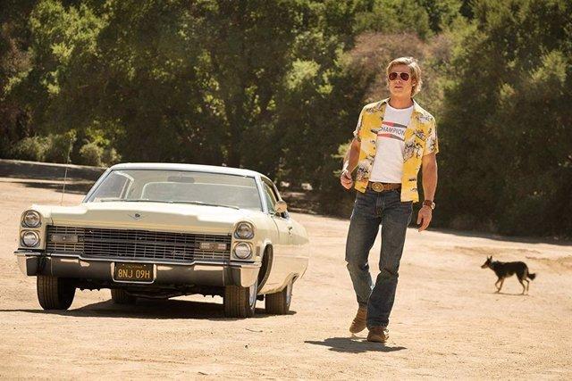 Brad Pitt en Érase una vez en... Hollywood