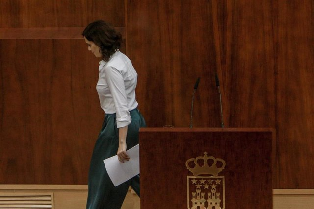 Imagen recurso de la presidenta de la Comunidad de Madrid, Isabel Díaz Ayuso,