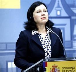 Vera Jourova, comisaria de Justicia y Protección del Consumidor