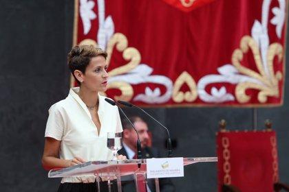 Casa Real.- El Rey recibirá el próximo martes a María Chivite