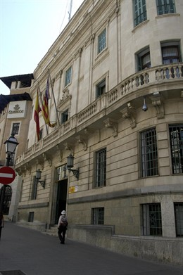 Fachada de la Delegación del Gobierno en Islas Baleares.