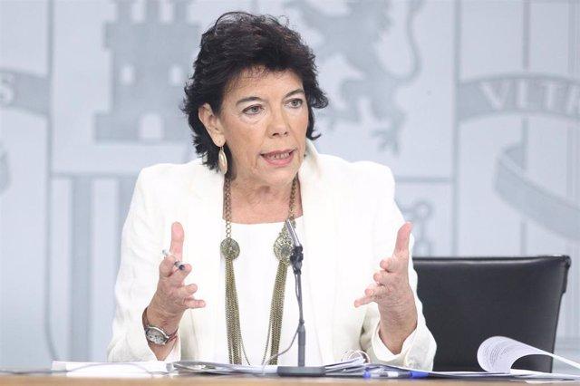 Rueda de prensa posterior al Consejo de Ministros en Moncloa