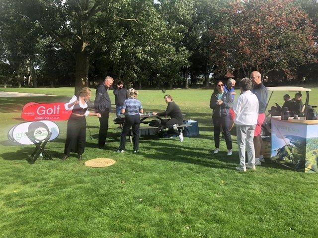 La provincia promociona su oferta de golf en Dinamarca.