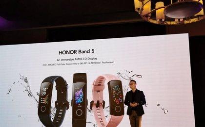 Honor pone foco en el deporte y la salud en el lanzamiento de la Band 5, su nueva pulsera inteligente