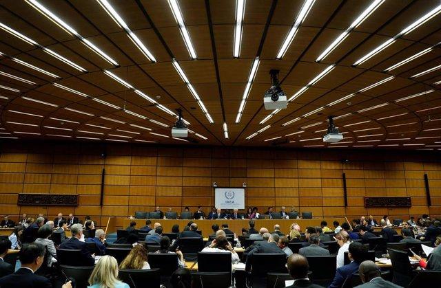 Reunión en la AIEA