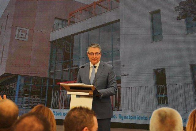El presidente de la Diputación, Francisco Salado.