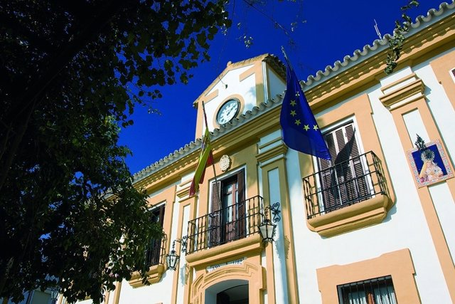 Fachada del Ayuntamiento de Guillena