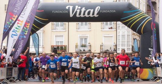 Fundación Vital celebrará el 5 de octubre en Vitoria la XVIII edición de la Carrera de Empresas