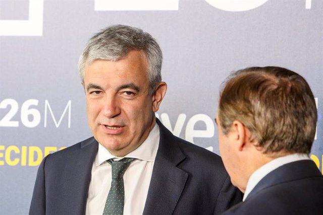 El líder de Ciudadanos en el Parlamento Europeo, Luis Garicano