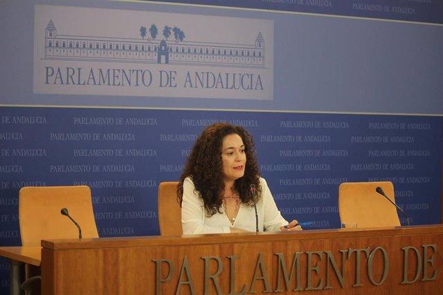 La portavoz del grupo parlamentario Adelante Andalucía, Inmaculada Nieto, en una imagen de archivo.