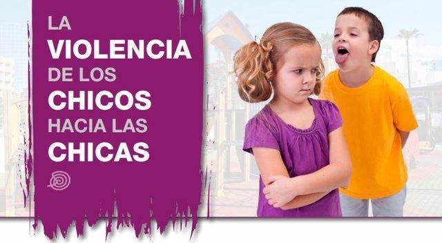 CAMPAÑA PARA NIÑOS SOBRE VIOLENCIA MACHISTA DE LA COMUNIDAD DE MADRID