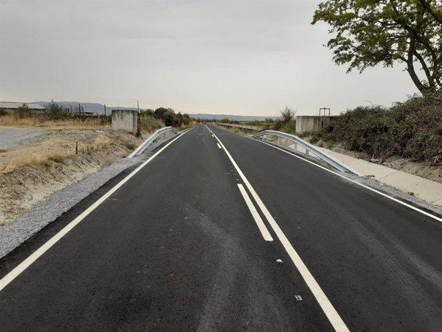 Acaban las obras de la carretera de Carcaboso a Valdeobispo