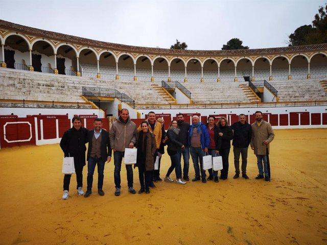Profesionales del sector turístico en un viaje de familiarización.