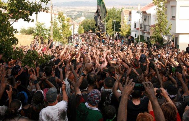 Fiesta del Cascamorras en Baza, en imagen de archivo