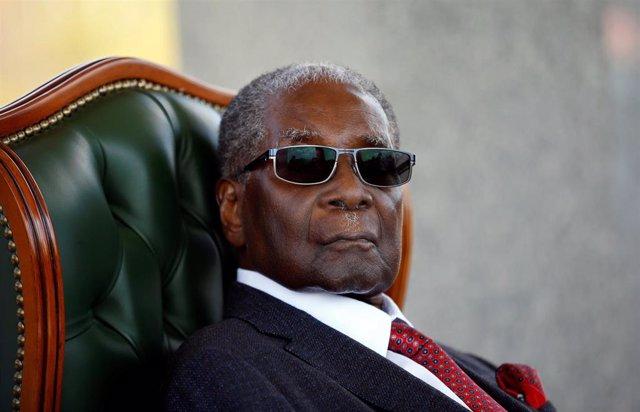 El ex presidente de Zimbabue Robert Mugabe