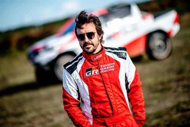 Fernando Alonso con Toyota Gazoo Racing