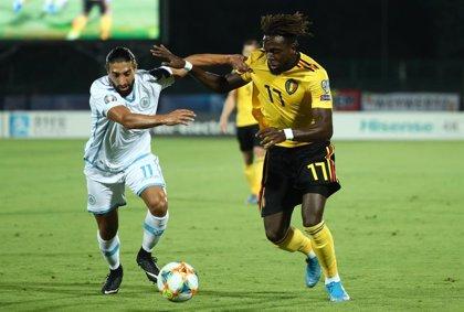 Una Bélgica sin Hazard sigue líder tras ganar en San Marino
