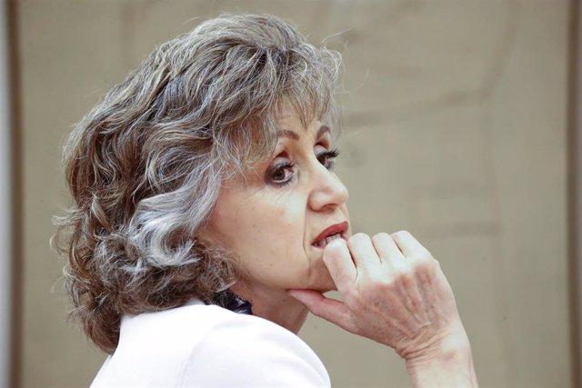 La ministra de Sanidad Consumo y Bienestar Social, María Luisa Carcedo, en una imagen de archivo