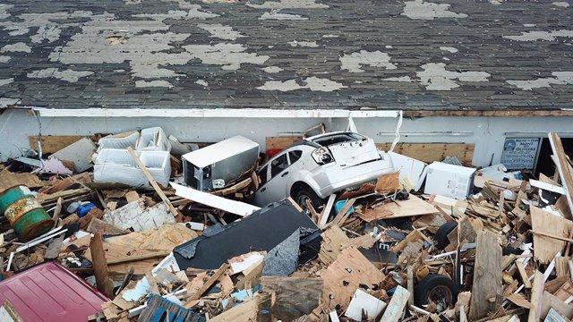 Bahamas tras el paso del huracán 'Dorian'